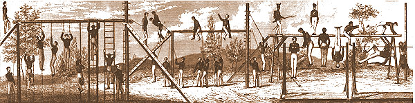 Military Gymnastics - early 1800s