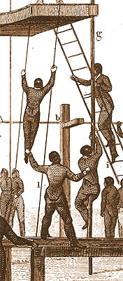 Pole Climbers of the early 1800s
