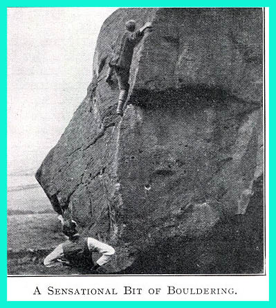 Early British Bouldering