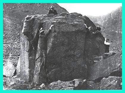 Bowderdale Boulder 1890s