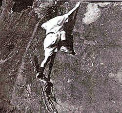 Young Boulderer, circa 1913