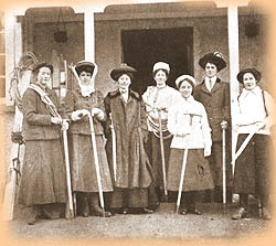 Ladies Scottish Climbing Club 1909