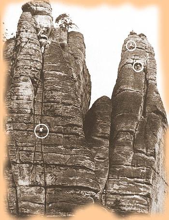 K. & G. Wehlturm, Rock Climbing History