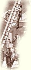1800s Ladder Climber