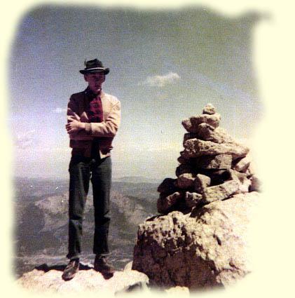 Longs Peak 1954